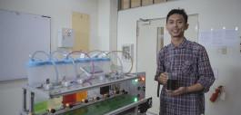 Gambar Keren! Mahasiswa PCR Ciptakan Mesin Pencampur Minuman Otomatis