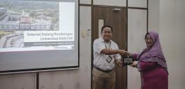 Gambar Kunjungi PCR, Rektor Univrab Studi Banding Pengelolaan Pusat Karir dan Tracer Study