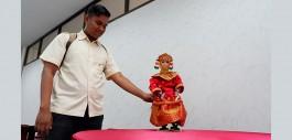 Gambar Lestarikan Seni Tari Tradisional Dengan Robot Tari Gending Sriwijaya