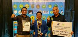 Gambar Mahsiswa PCR Raih Juara 1 Entrepreneurship Award III LLDikti Wilayah X kategori Rencana Bisnis