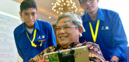 Gambar Mindy Wheelchair Karya Mahasiswa PCR Pukau Pengunjung IPA Convex 2019 di Jakarta