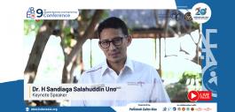 Gambar PCR Hadirkan Sandiaga Uno sebagai Keynote Speaker pada ABEC 2021