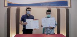 Gambar PCR Jalin Kerja Sama dengan Fakultas Tarbiyah dan Keguruan UIN SUSKA