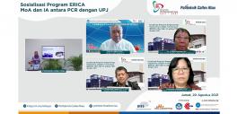 Gambar PCR bersama UPJ Mendapat Hibah Program pengembangan kapasitas bagi Pimpinan Politeknik Swasta dari DIES NMT