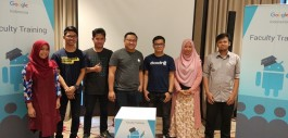 Gambar PCR ikut serta dalam Train of Trainers (ToT) Android Developer Fundamental oleh Google