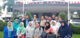 Gambar PCR kedatangan Peserta Workshop Audit Mutu Internal Kopertis Wil X