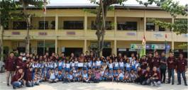 Gambar PMK PCR Adakan Gerakan Peduli Lingkungan Dengan Siswa Sekolah Dasar