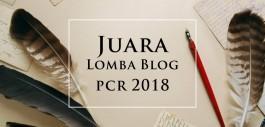 Gambar Pemenang Lomba Blog PCR 2018