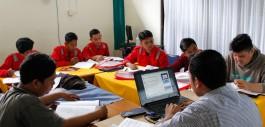 Gambar Pemuda Rumbai Ikuti Pelatihan Pengelasan di PCR