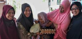 Gambar Ramadan, PCR Berbagi 61 Paket Sembako untuk Masyarakat Berekonomian Rendah