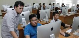Gambar Tiga Belas Mahasiswa Politeknik Mersing Johor Belajar di Politeknik Caltex Riau