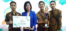 Gambar Tim Lado Merah V2.0 PCR Raih Juara Pada Kompetisi FIND IT 2018