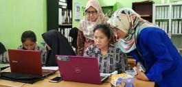 Gambar Tingkatkan Kompetensi Komputer Akuntansi, Prodi Akuntansi PCR Berikan Pelatihan Kepada Siswa SMKN 6