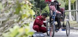 Gambar Tricycle Bike, Sepeda Listrik Untuk Penyandang Disabilitas Karya Mahasiswa PCR