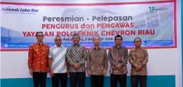 Gambar Yayasan Politeknik Chevron Riau Selenggarakan Serah Terima Pengurus dan Pengawas
