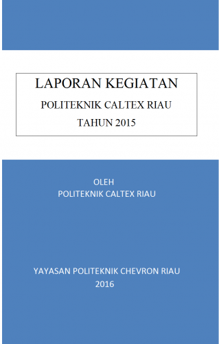 Lapran Tahunan 2015 PCR