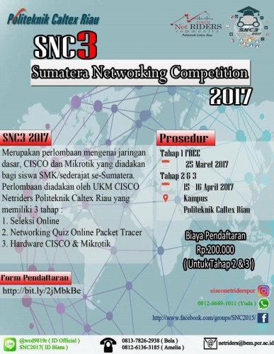 Poster SNC3