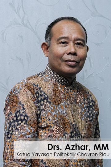 Ketua Yayasan Politeknik Chevron Riau